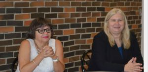 Marlene Huerta & Irene Mikawoz